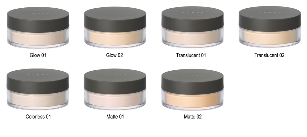 �ล�าร���หารู��า�สำหรั� three Ultimate Diaphanous Loose Powder matte