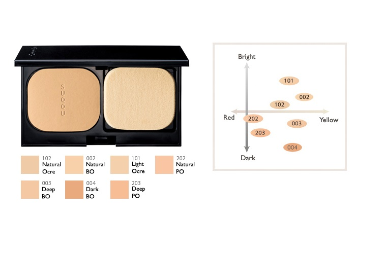 Suqqu Lucent Powder Foundation N Ichibankao